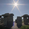 Carhenge Readies Itself for the Eclipse and a Flood of Tourists