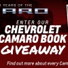 "Celebrating 50 Years: Enter Our Giveaway to Win ""The Complete Book of Chevrolet Camaro"""