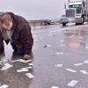 It's Raining Money On an Illinois Highway