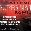 Supernatural Giveaway: Enter to Win a Replica of Dean Winchester's 1967 Chevrolet Impala