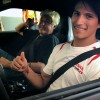 Jay Leno Makes Topical Video Game Jokes, Goony Faces with GT Academy Winner Ricardo Sánchez