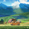 Miyazaki-Inspired Oregon Tourism Ad Features a Brief Appearance by Lupin III's Fiat 500
