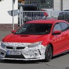 New Honda Civic Type R Spied Testing With Smaller Rear Wing