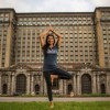 Ford's Sushma Patel Shares Benefits of Yoga at Shelters
