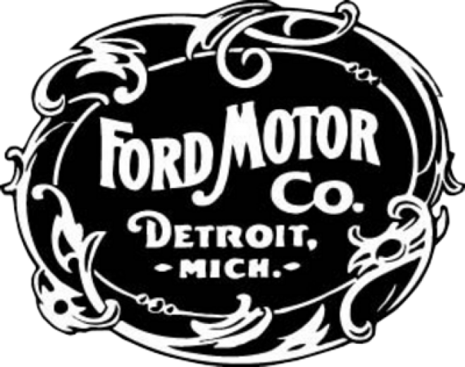 1903 1906 Old Ford Logo