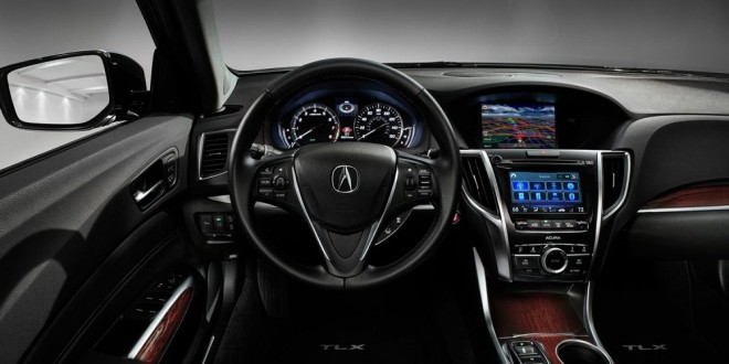 2016 Acura TLX Color Multi-Information Display (MID) with ...