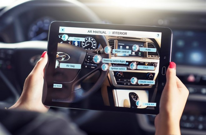 Hyundai Virtual Guide App 3D video owner\'s manual tablet | The News ...