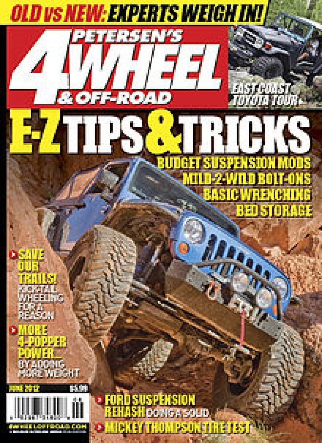 4 wheel off road magazine cover the news wheel. Black Bedroom Furniture Sets. Home Design Ideas