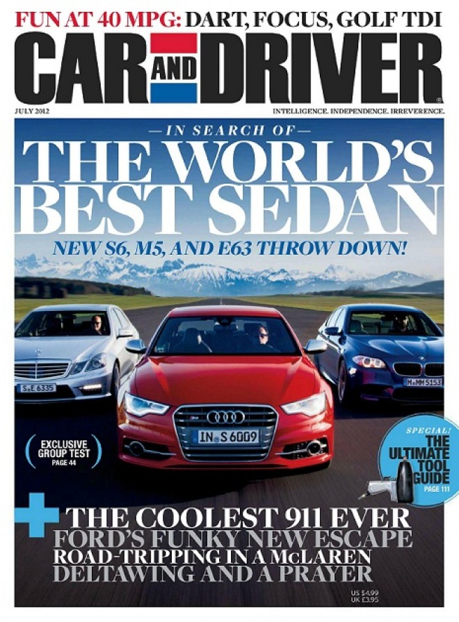 Car and driver magazine cover | The News Wheel
