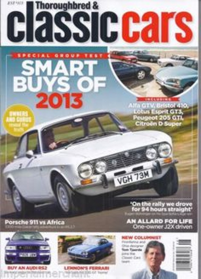 Classic Cars magazine cover | The News Wheel