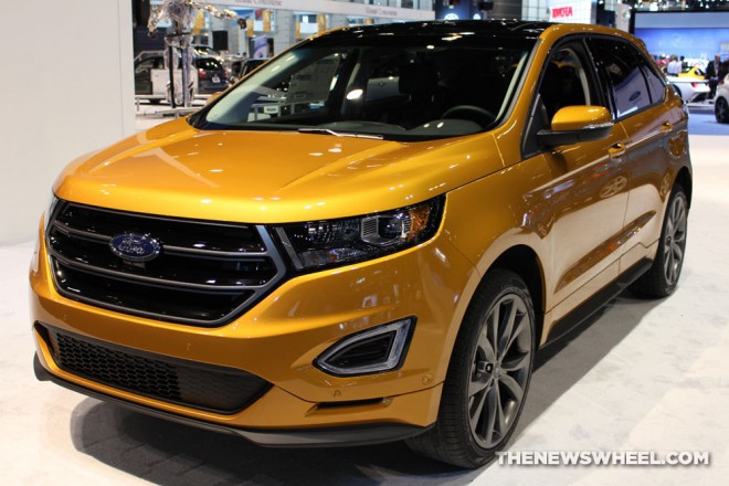 2016 ford edge sport electric spice the news wheel. Black Bedroom Furniture Sets. Home Design Ideas