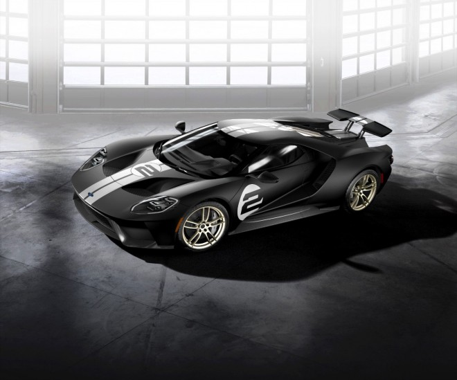 Photos] 2017 Ford GT '66 Heritage Edition Honors Le Mans History