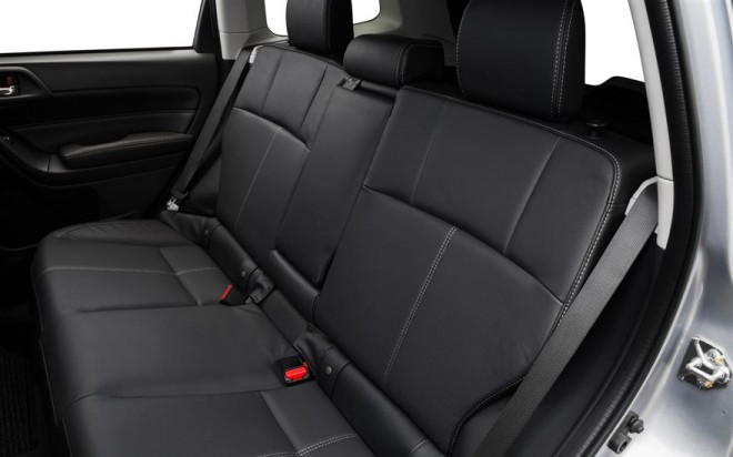 2017 subaru forester rear seats the news wheel. Black Bedroom Furniture Sets. Home Design Ideas