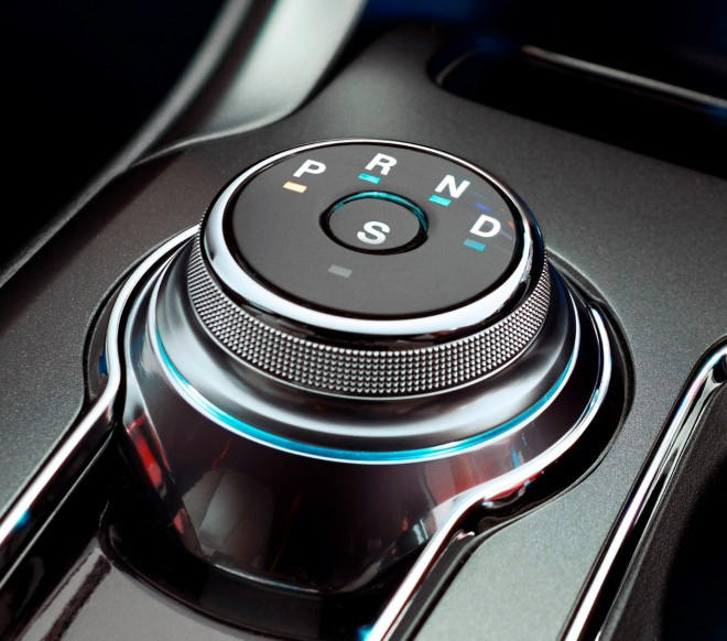 2017-ford-fusion-rotary-gear-shift-dial | The News Wheel