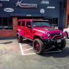 Amber Rose Pink Chrome Jeep Wrangler The News Wheel