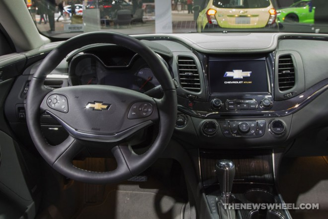 2017 Chevrolet Impala Interior The News Wheel