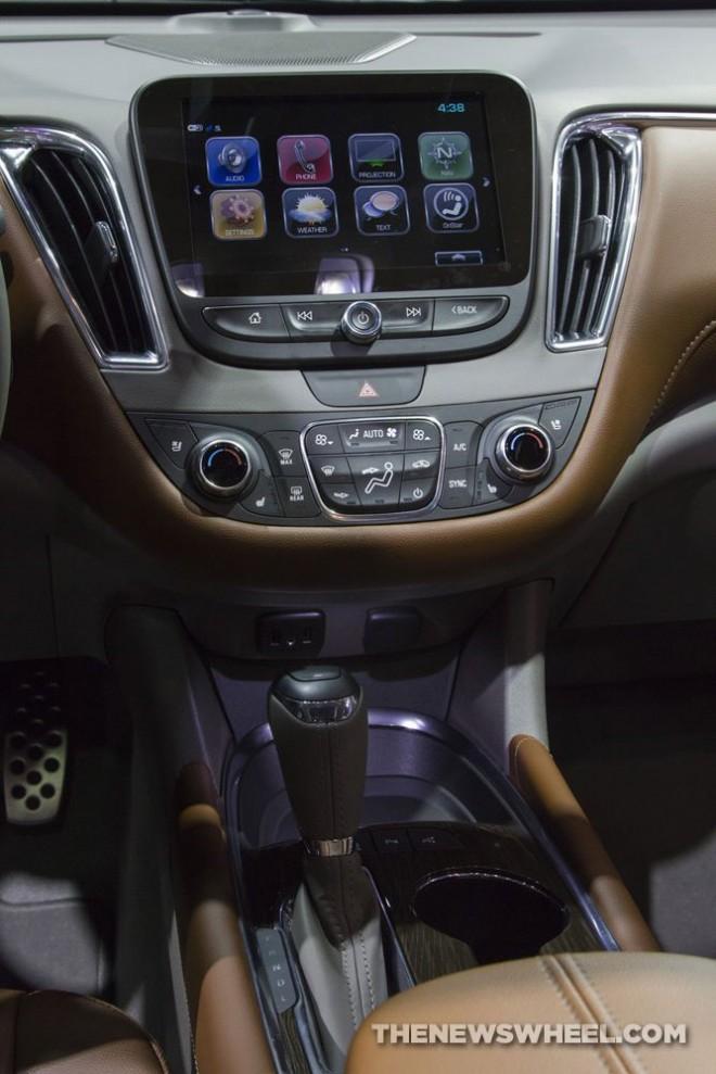 2017 Chevrolet Malibu 20t Premier interior | The News Wheel
