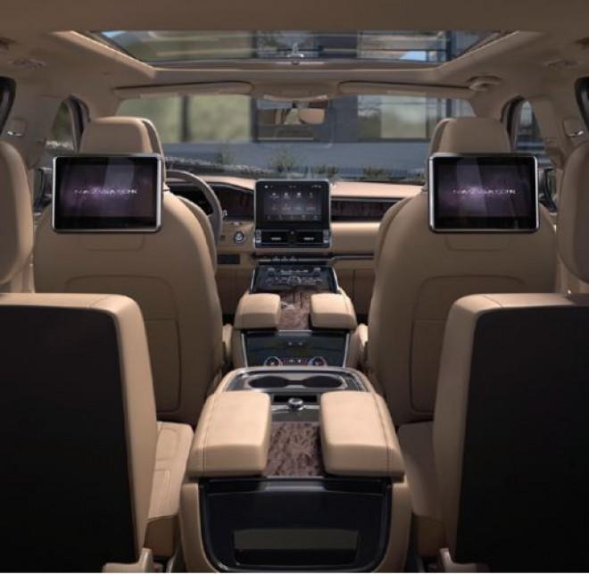 Worksheet. 2018 Lincoln Navigator rearseat entertainment  The News Wheel