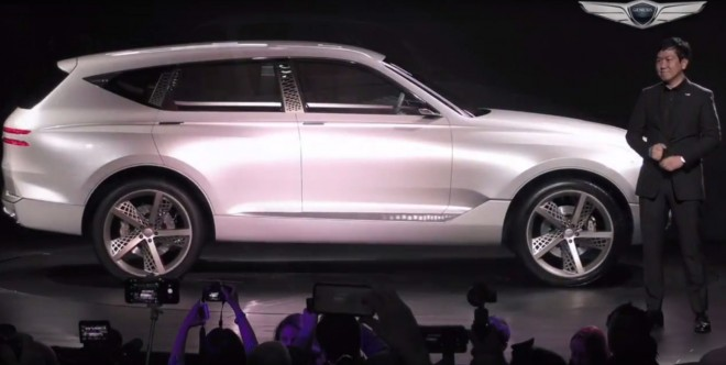Genesis Concept Suv New York Auto Show Debut Reveal