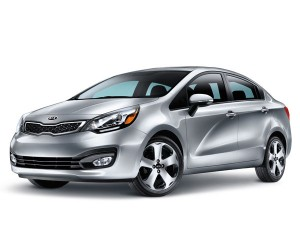 2013 Kia Rio wins U.K Tow Car Award