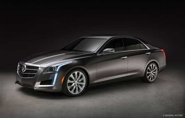 CTS Cadillac featured in Fashion Shoot