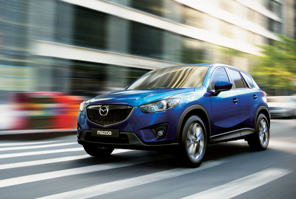 2013 Mazda CX-5 Best-In-Class MPG