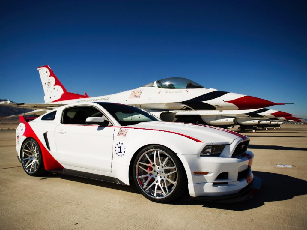2014 Mustang Thunderbird