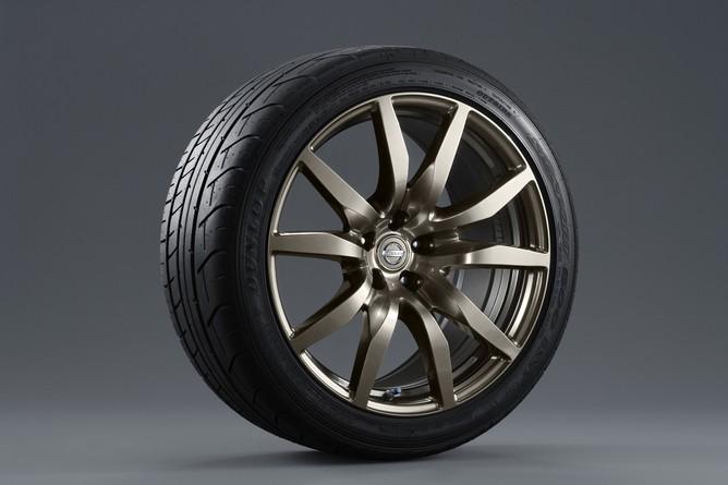 GT R Midnight Opal Wheel