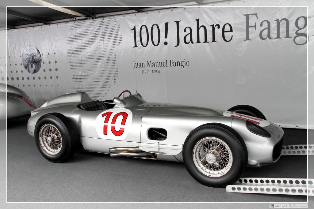 1954 Mercedes W196 F1 Silver Arrow