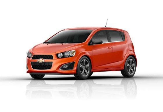 street ready 2013 chevy sonic rs the news wheel. Black Bedroom Furniture Sets. Home Design Ideas