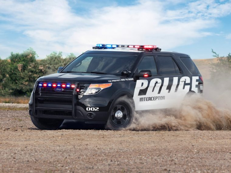 current-gen Ford Police Interceptor Utility