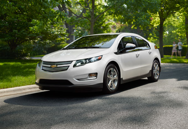 2013 Chevy Volt Overview