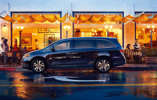 Honda Odyssey Minivans Recalled