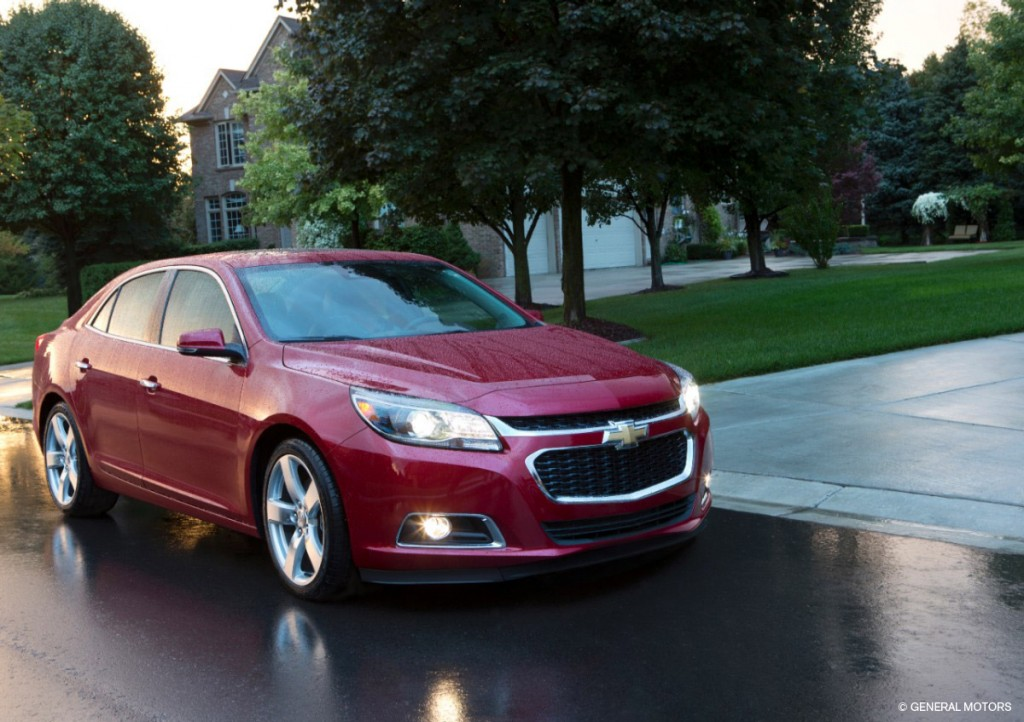 2014 Chevy Malibu technology
