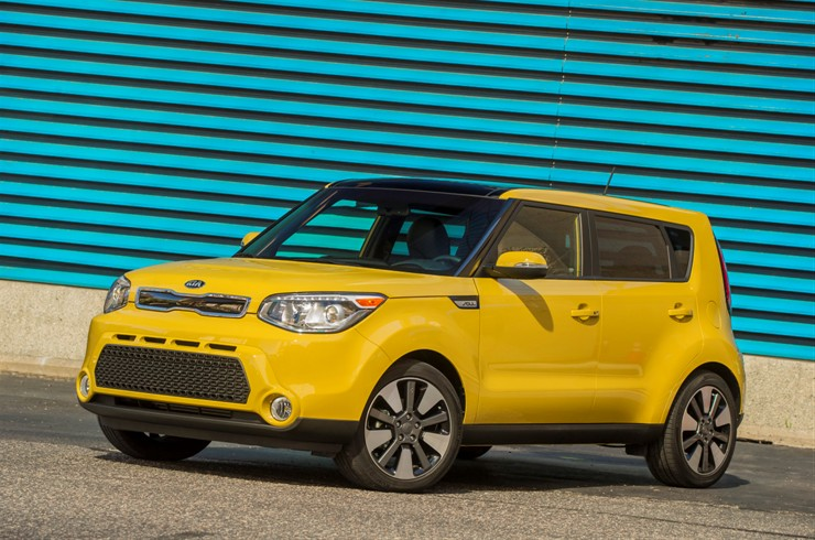 2014 Soul inspiration for 2015 Kia Soul EV