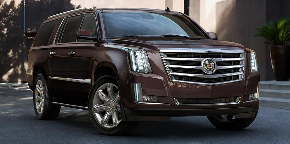 all-new interior for the 2015 Escalade