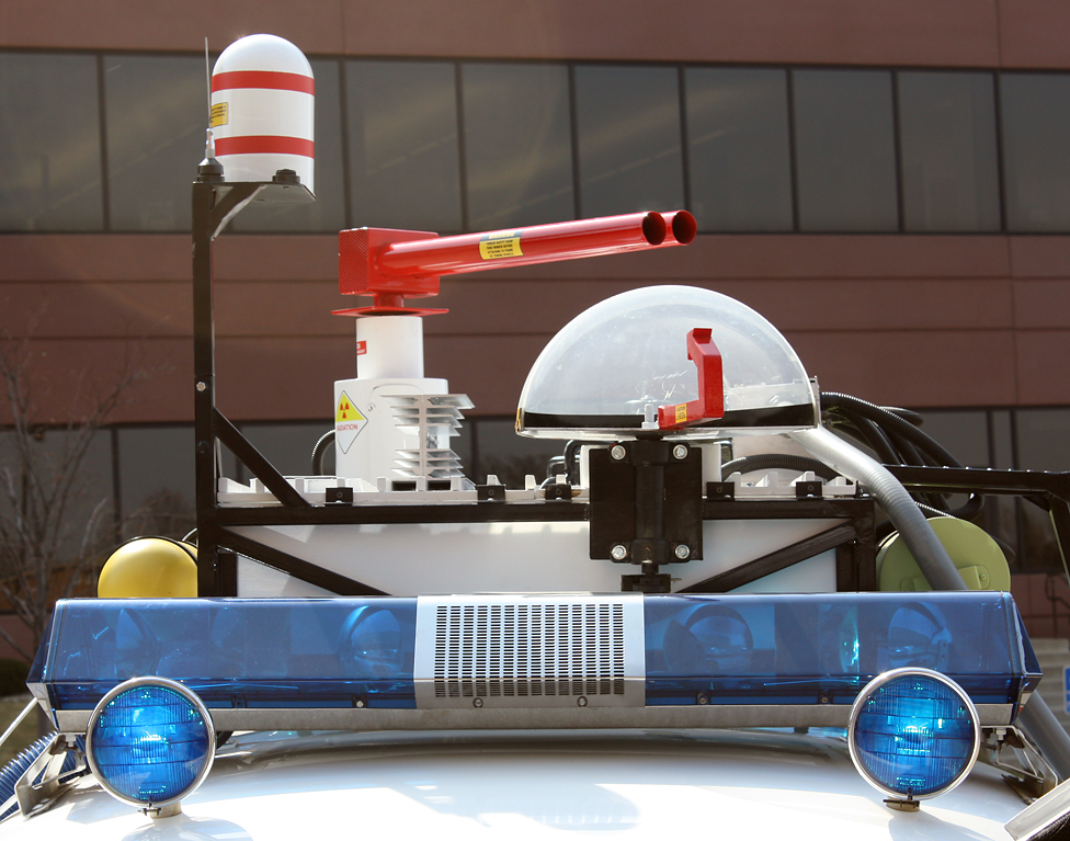 Ecto 1 Roof equipment