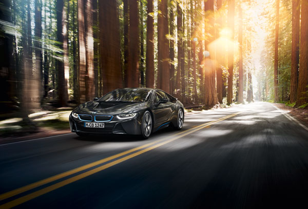 BMW i8 ActiveE field trial