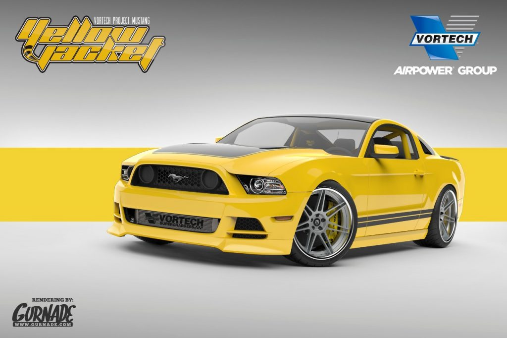Project Yellow Jacket Mustang GT
