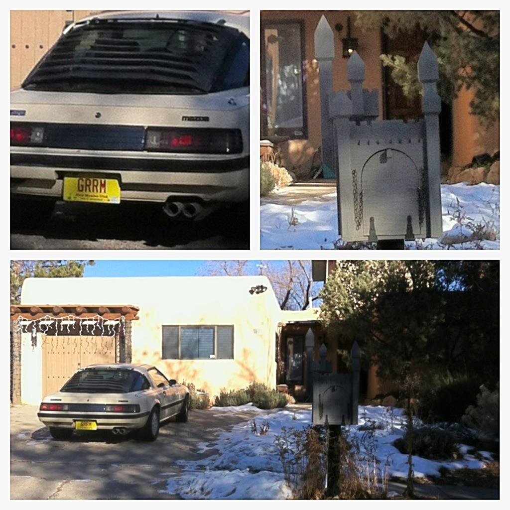 George R.R. Martin's Mazda