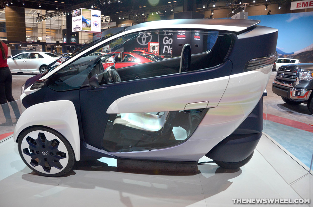 Toyota unveiled the i-Road