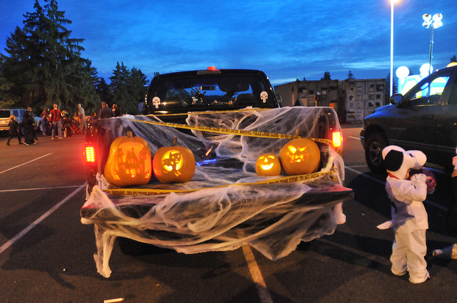 trunk or treat truck