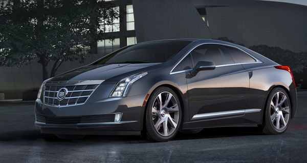 The Cadillac ELR cabin looks as sleek as the exterior