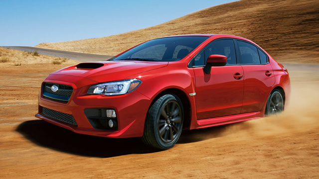 2015 Subaru WRX and WRX STI