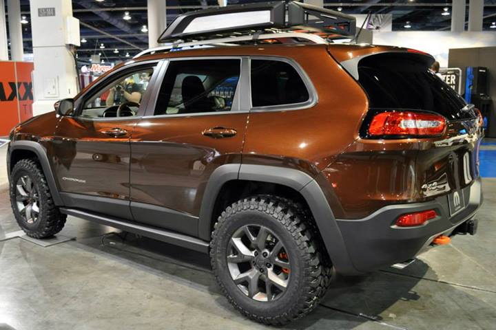 Mopar Jeep Cherokee Trail Carver Cuts A Path All Its Own