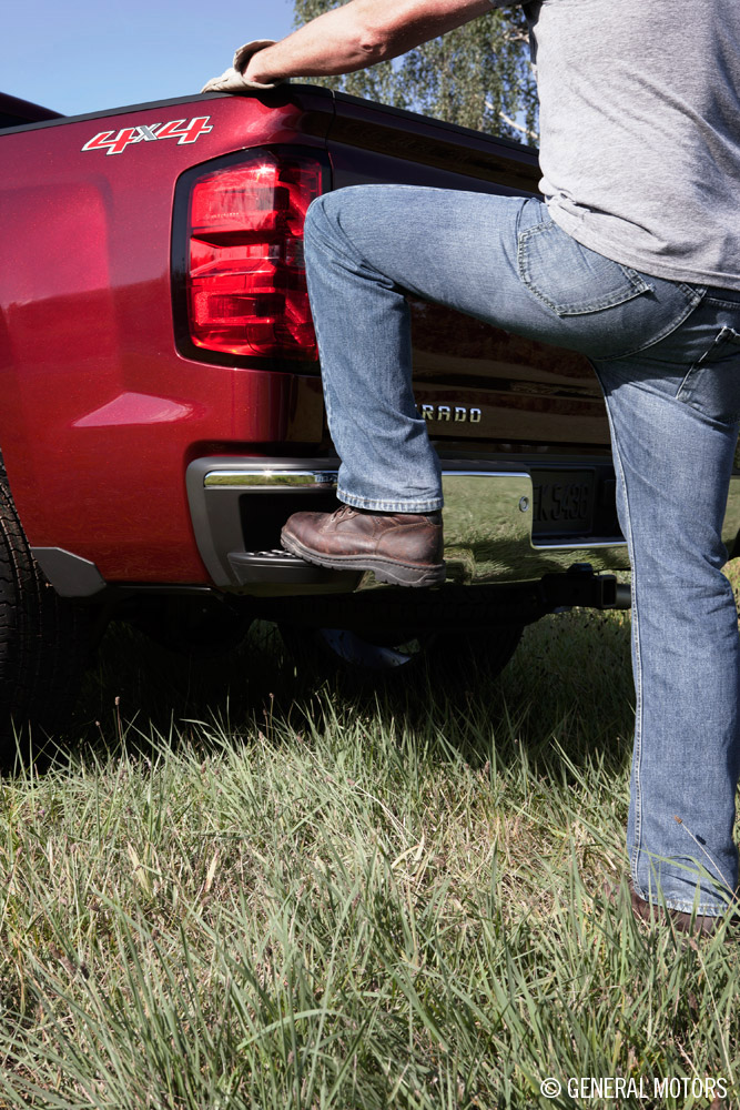 2014 Chevy Silverado's Pick-Up Box