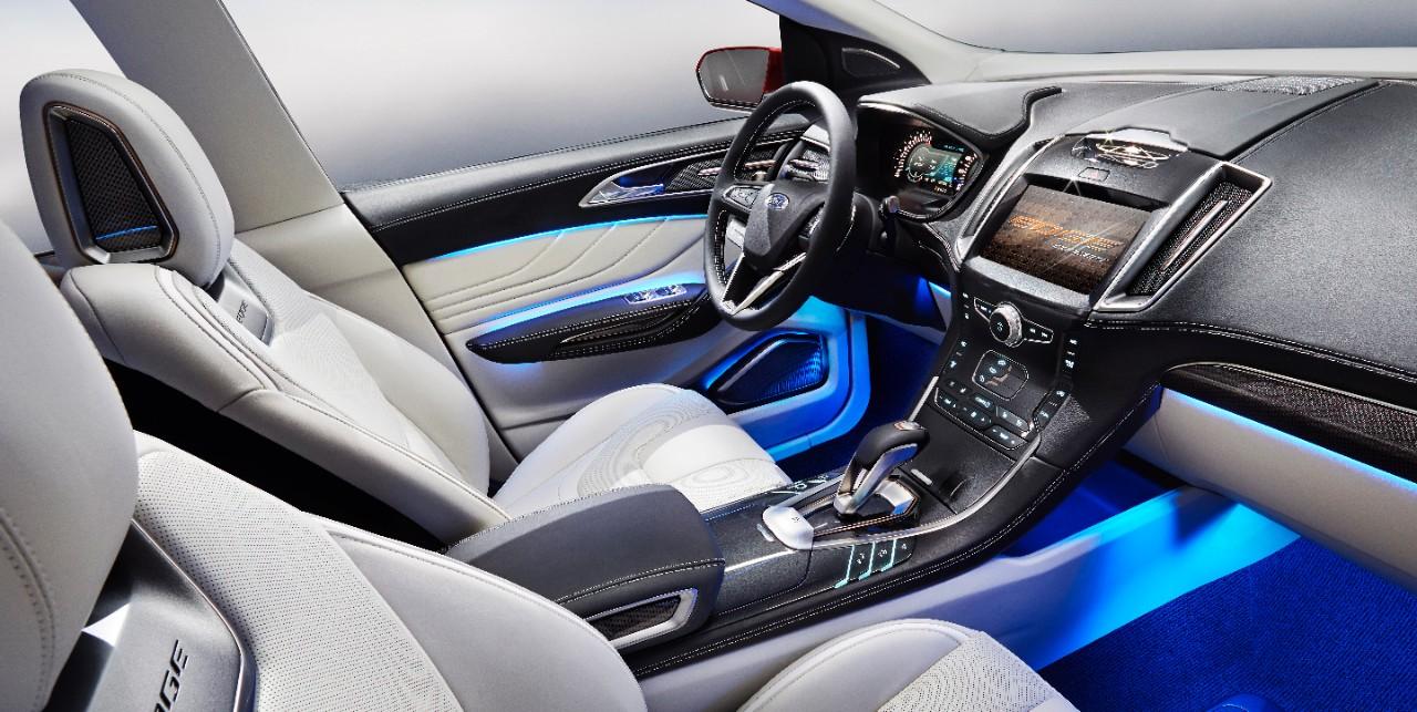 Ford Edge Concept & New Ford Edge Concept Technology Is Cutting Edge | The News Wheel markmcfarlin.com