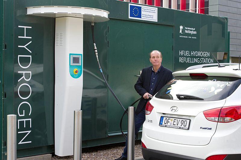 Hyundai Hydrogen Fuel Cell Vehicle