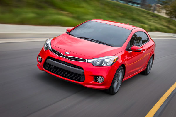 Newly-Announced 2014 Kia Forte Koup