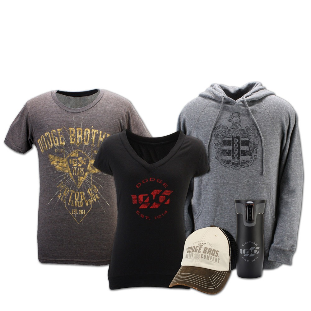 100th Anniversary Dodge Merchandise Collection in Time for ...